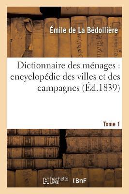 Dictionnaire des Menages