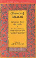 Ghazals Of Ghalib (Oip)