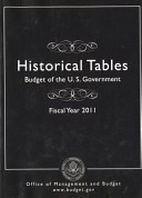 Budget of the United States Government: Historical Tables Only: Fy 2011