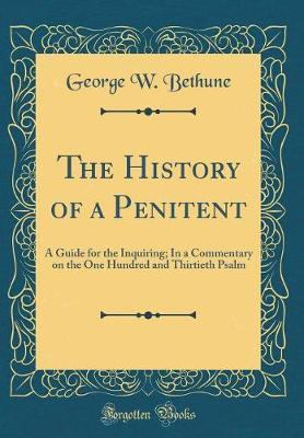 The History of a Penitent