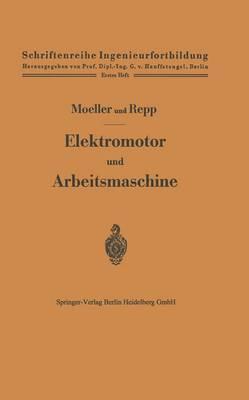 Elektromotor Und Arbeitsmaschine