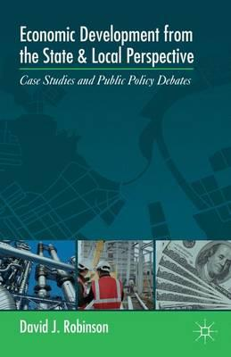 Economic Development from the State and Local Perspective
