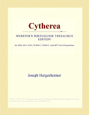 Cytherea (Webster's Portuguese Thesaurus Edition)