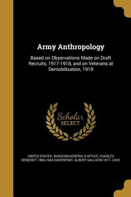 ARMY ANTHROPOLOGY