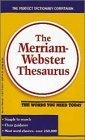 The Merriam Webster ...