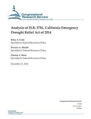 Analysis of H.r. 5781, California Emergency Drought Relief Act of 2014