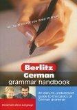 German Grammar Handbook