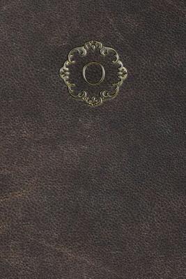 Monogram O Meeting Notebook