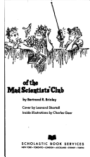 New Adventures of the Mad Scientists Club