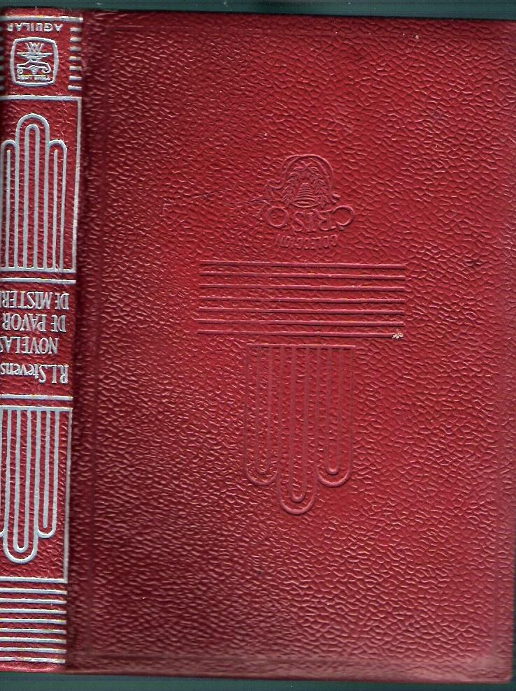 Novelas de pavor y misterio