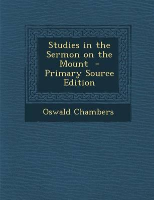 Studies in the Sermo...