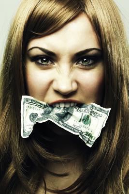 Hush Money Blank Book