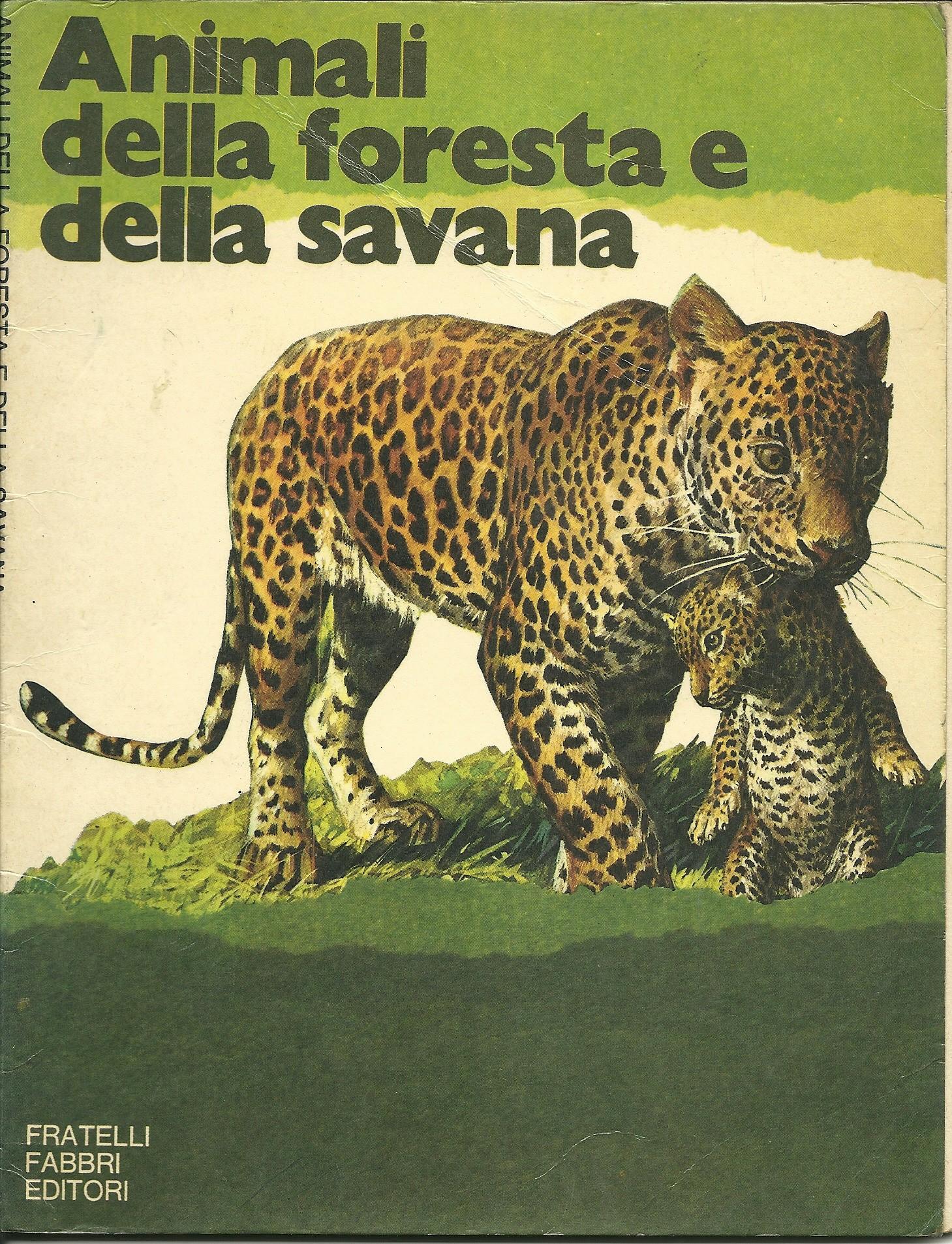 Animali della foresta e della savana