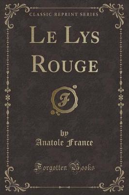 Le Lys Rouge (Classi...