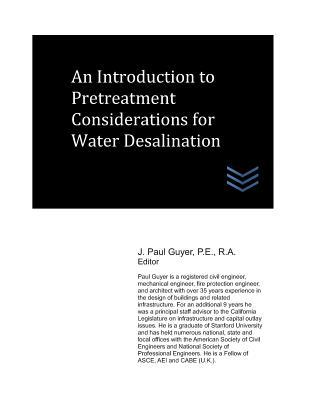 An Introduction to Pretreatment Considerations for Water Desalination
