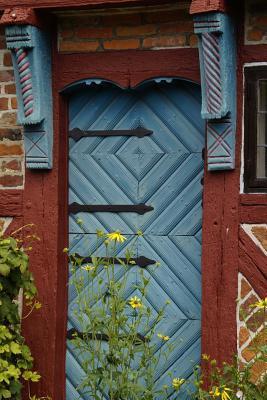 Blue Door Lined Journal