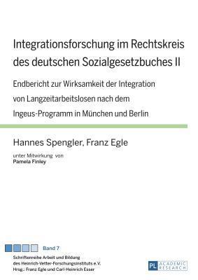 Integrationsforschung Im Rechtskreis Des Deutschen Sozialgesetzbuches II