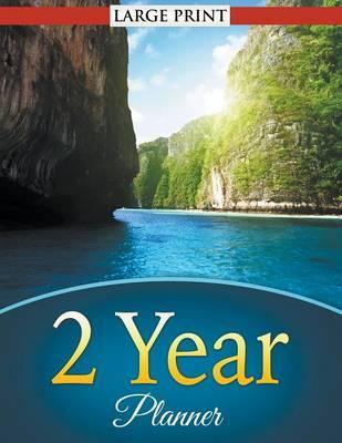 2 Year Planner (Large Print)