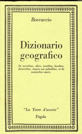Dizionario geografico