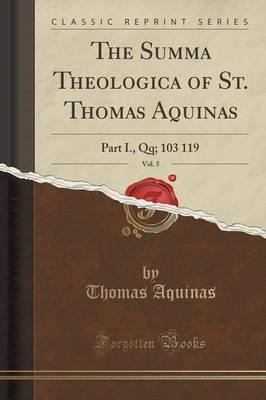 The Summa Theologica...