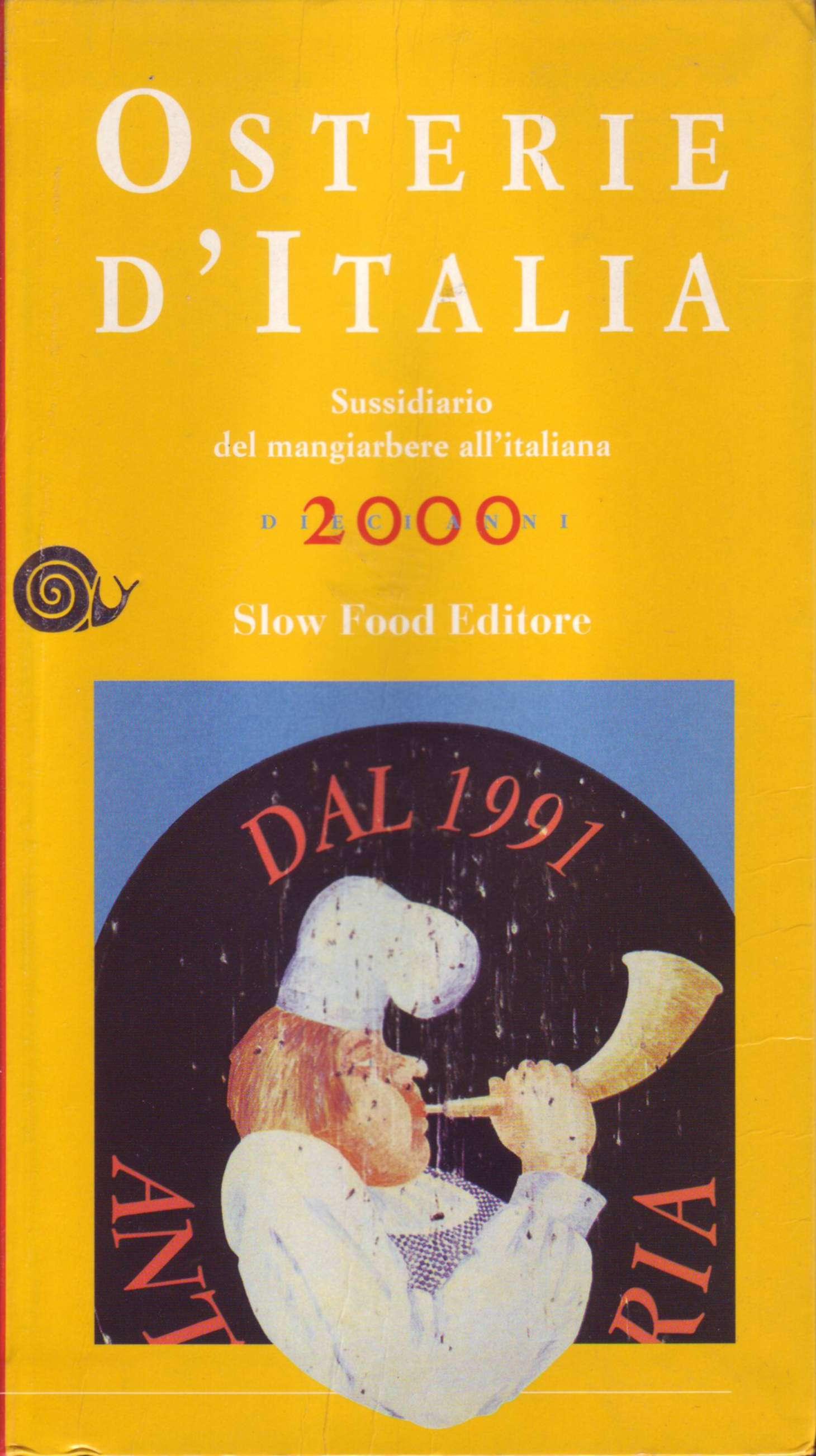 Osterie d'Italia 2000