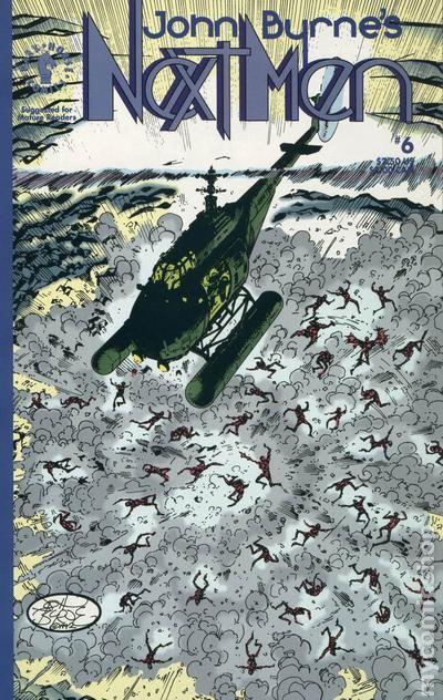John Byrne's Next Men Vol.1 #6