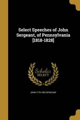 SELECT SPEECHES OF JOHN SERGEA