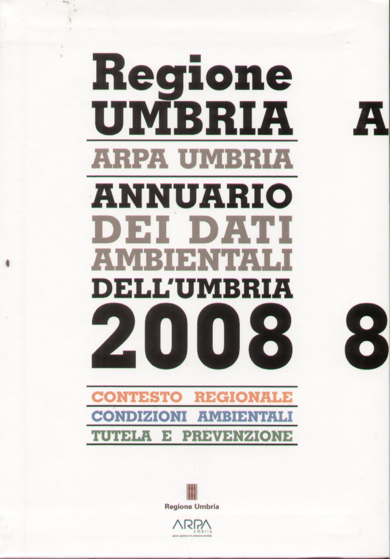 Annuario dei dati ambientali dell'Umbria