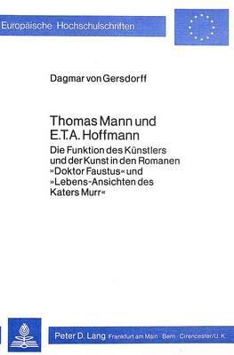 Thomas Mann und E.T.A. Hoffmann