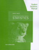 Student Solutions Manual for Brase/Brase's Understanding Basic Statistics, 6th