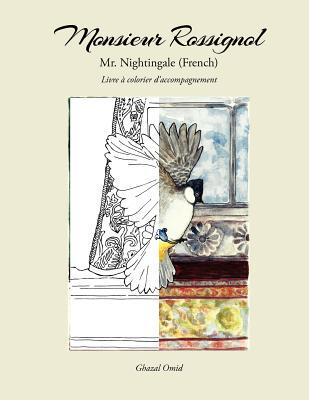 Mr. Nighthingale Companion Adult Coloring Book