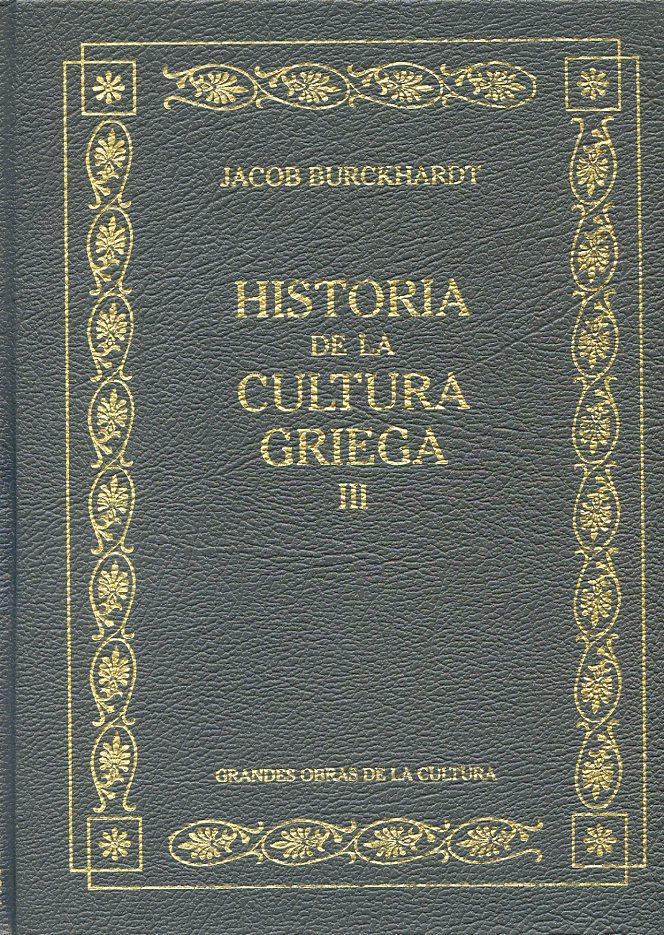 Historia de la cultura griega III