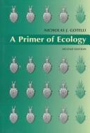 'A Primer of Ecology'