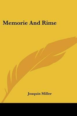 Memorie and Rime