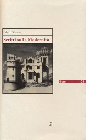Scritti sulla modernità