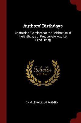 Authors' Birthdays