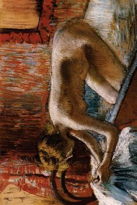Woman Leaving Her Bath by Edgar Degas Blank/Lined Journal