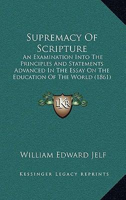 Supremacy of Scripture