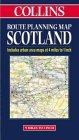 Collins Route Planning Map of Scotland