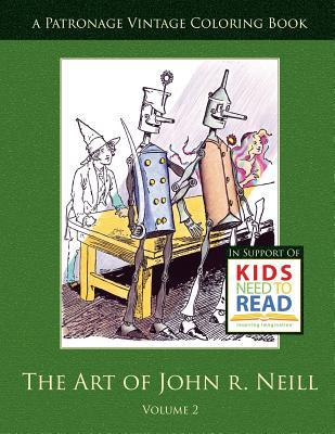 The Art of John R. Neill Patronage Vintage Coloring Book, Volume 2