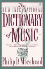 Dictionary of Music,...