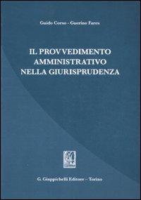 Il provvedimento amministrativo nella giurisprudenza