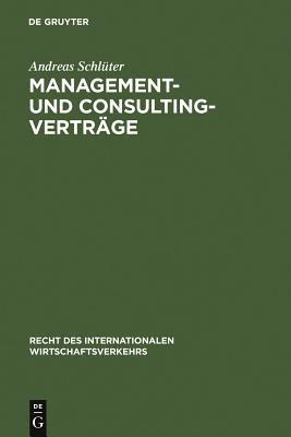 Management- Und Consulting-verträge