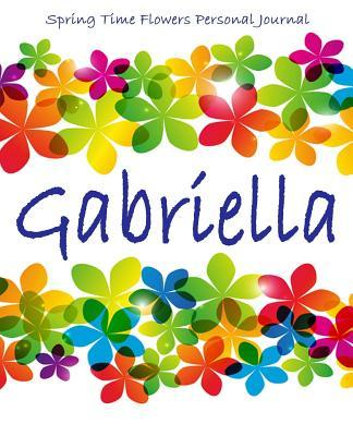 Spring Time Flowers Personal Journal Gabriella