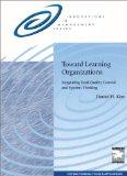 Toward Learning Organizations