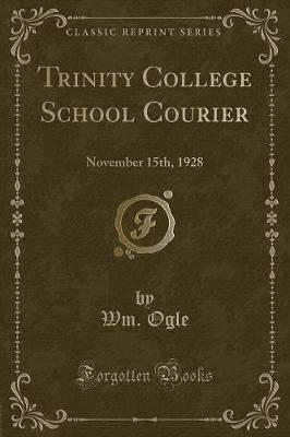 Trinity College School Courier
