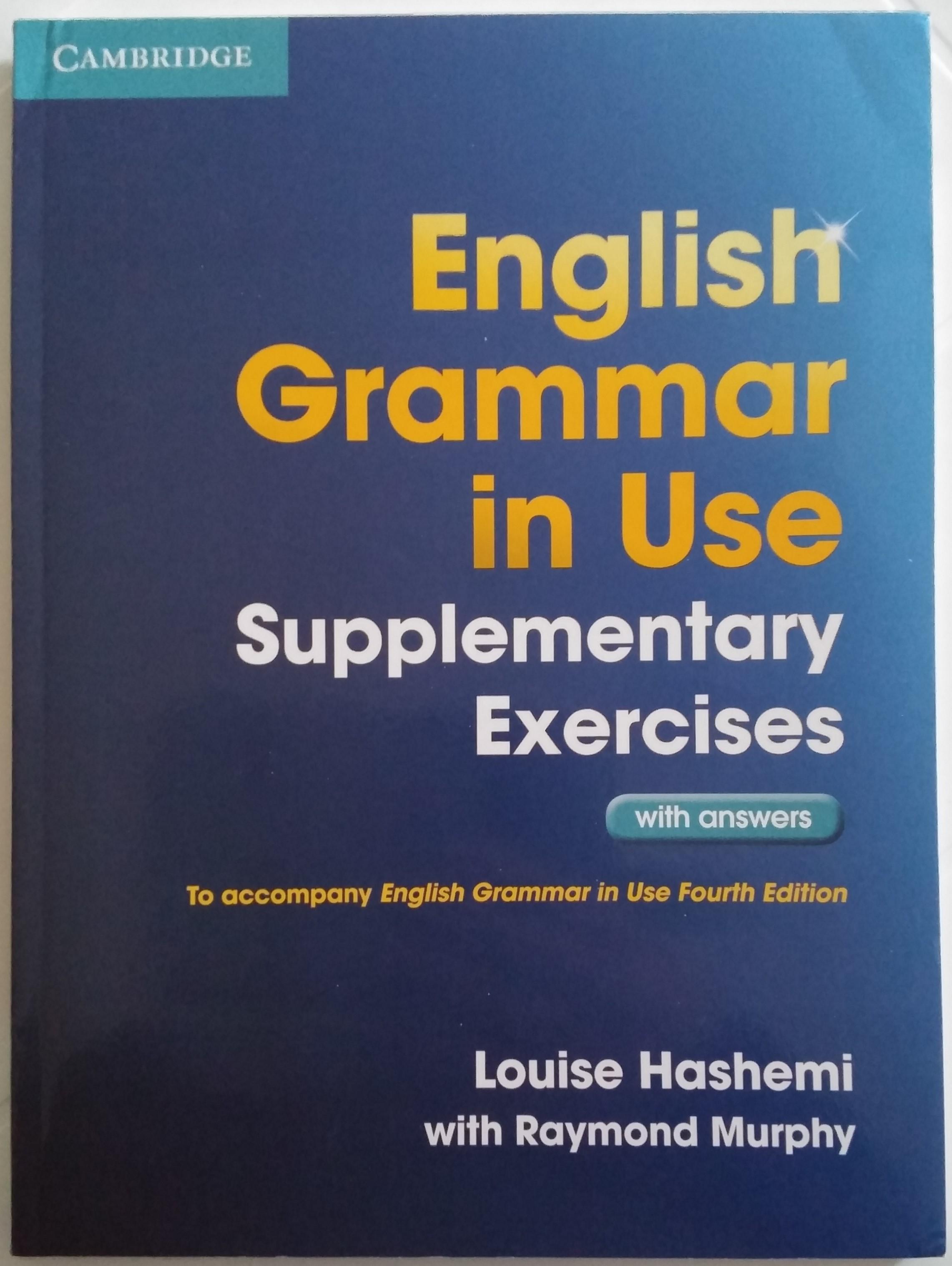 English Grammar in U...