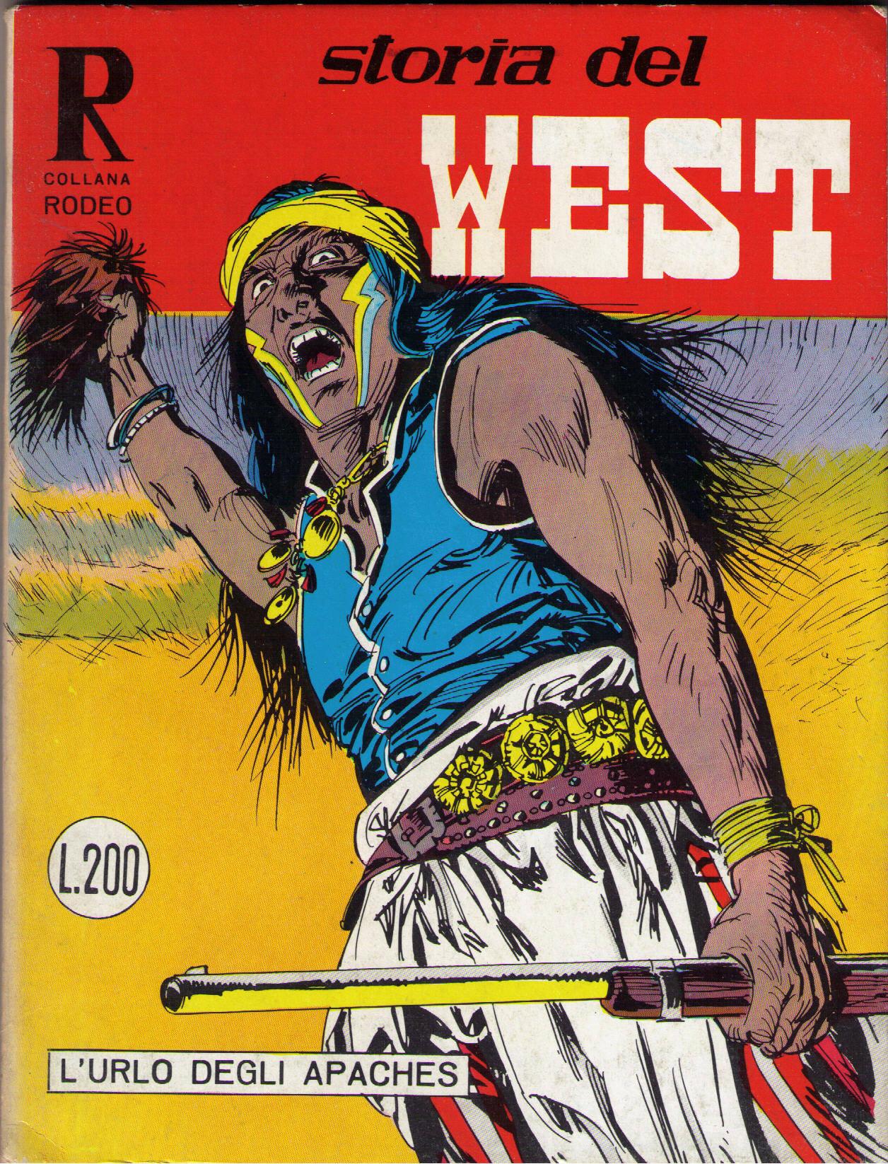 Storia del West n.29 (collana Rodeo n.65)