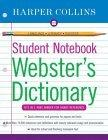Harpercollins Student Notebook Webster's Dictionary