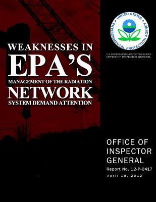 Weaknesses in Epa's Management of the Radiation Network System Demand Attention